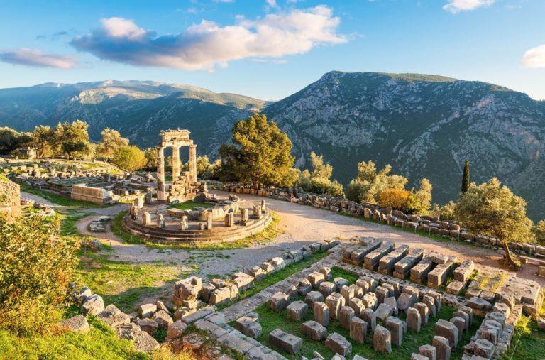 Athens to Delphi full day tour