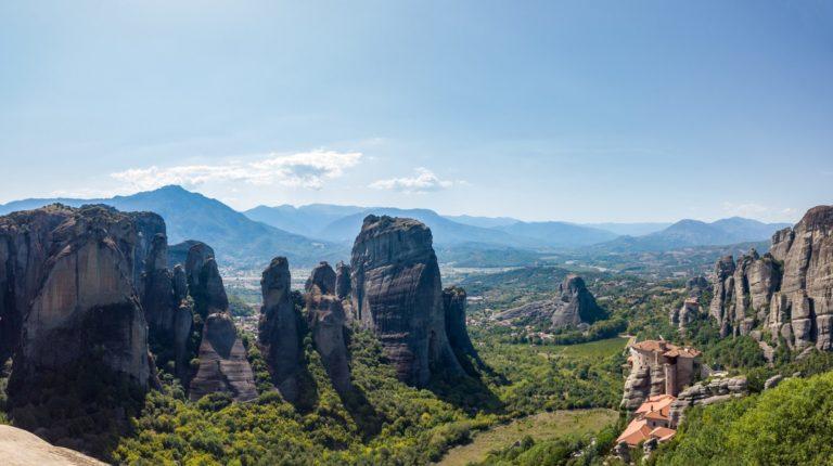Athens tour to Meteora
