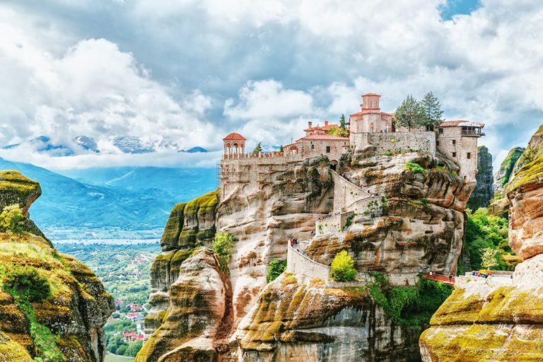 Meteora monasteries in Greece on a private tour