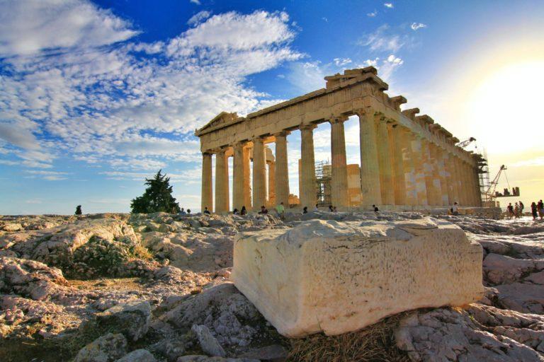The Parthenon of Acropolis in Athens on a full day tour